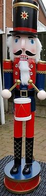 CHRISTMAS NUTCRACKER SOLDIER DRUMMER EXTRA LARGE 60 cms NEW THIS YEAR! BNWT