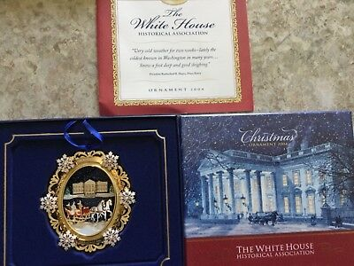 The White House Historical Association Christmas Ornament 2004