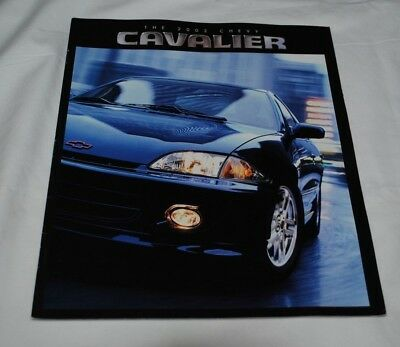 2002 Chevy Cavalier Sales Brochure 33 Pages