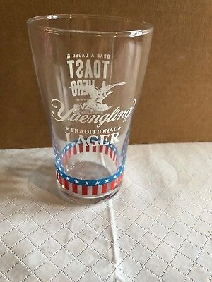 Yuengling Lager VFW Beer Pint Glass New