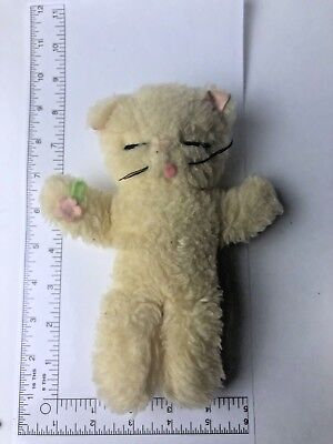 """Chessie Kitten Plush Play Sleeping Cat By Clare Creations 8"""""""
