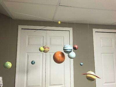 pottery barn kids solar system planet space mobile rare with plutopottery barn kids solar system planet space mobile rare with pluto!