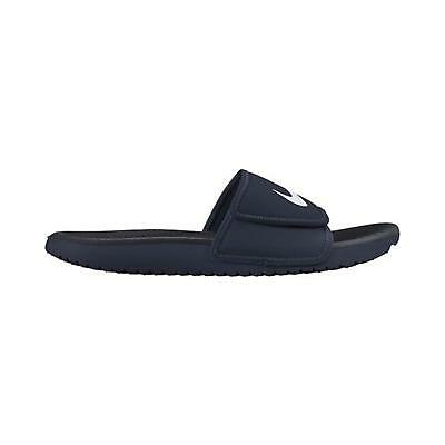 39a02afb0f43 MENS NIKE KAWA Adjust Slides Black White 834818 001 Sandals -  29.99 ...