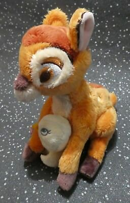 Disney Store Bambi Soft Plush Toy With Chick