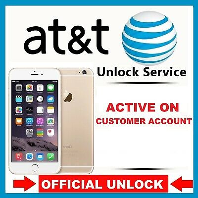 PREMIUM FACTORY UNLOCK SERVICE Active on Another Account AT&T IPHONE X 8 8+ 7 7+