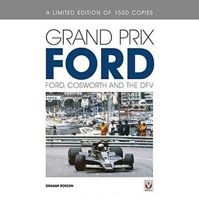 Ford Grand Prix (Cosworth DFV V8 GP F1 Racing Lotus McLaren Matra) Buch book