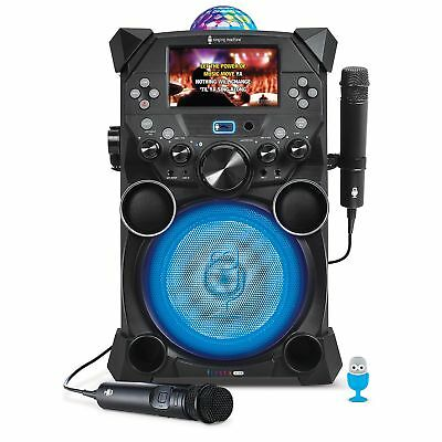 Singing Machine Fiesta Plus Hi-Def Karaoke System Model #SDL9039
