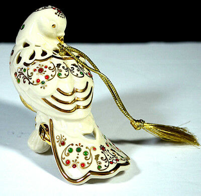 Lenox Ornament BEJEWELED CHRISTMAS DOVE Holiday NEW IN BOX Jewels