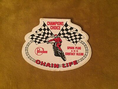Vintage MotoCross Racing Chain Life Sticker / Decal