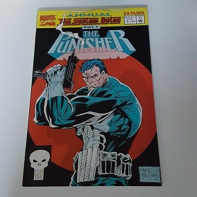The Punisher Annual #5 The System Bytes 1992