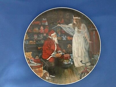 """THE SNOW QUEEN"" Plate by NORMAN ROCKWELL 1979 Legendary Art Collection"