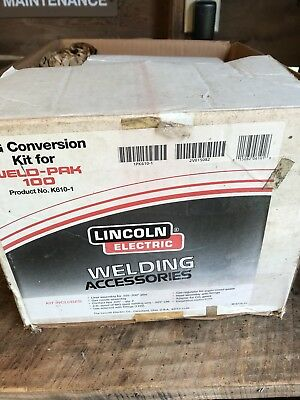 Lincoln Electric Weld Pak 100 Wire Feed Welder MIG Conversion Kit New K610-1