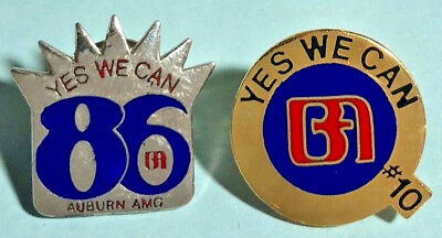 Yes We Can - Bank of America #10 Logo Pin ,