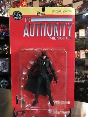 MIDNIGHTER The Authority DC Direct Action Figure 1998   New   Sealed