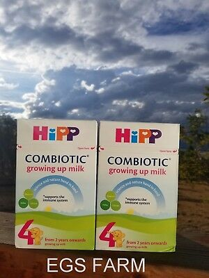 2 Boxes HiPP Combiotic Stage 4 Growing up Milk 600g Free Shipping