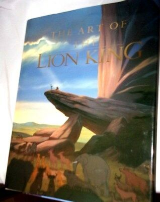 Disney The Art of the Lion King Book