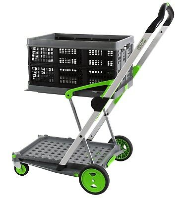 Clax Cart - Folding Trolley Including One Basket - Brand New