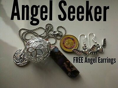 Code 459 Angel Seeker Baby Caller Musical Ball Infuse Necklace Archangel Michael