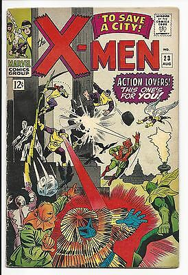 X-Men # 23 (Aug 1966), Fn/vf