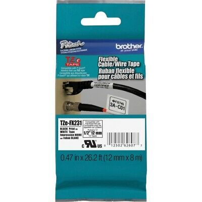 Brother Flexible Cable/Wire TZe ID Tape
