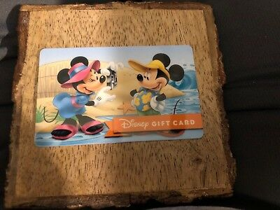 Disney Gift Card - Mickey And Minnie At The Beach - No Value