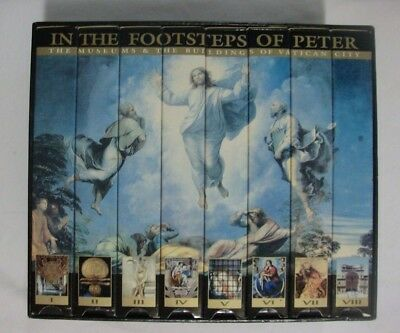 In the footsteps of Peter ~ The Museums & Buildings of Vatican City ~ Set 8 VHS