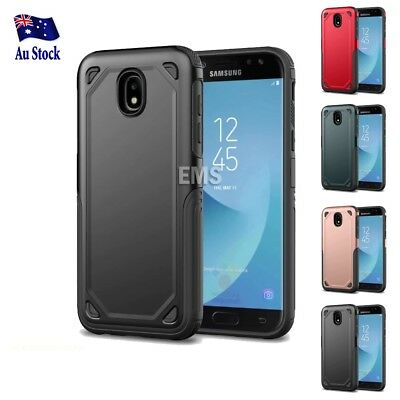 Samsung Galaxy J5 J7 Pro & A8 J2 Pro 2018 Heavy Duty Shockproof Tough Case Cover