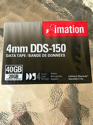 Imation Dds-150 4Mm Data Tape 40Gb Compressed 20Gb Compressed Brand New