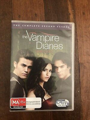 Vampire Diaries Season 2 5 Disc Set Dvd R4 Aus Seller