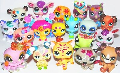 🐾 LPS Littlest Pet Shop - Sparkle Collection with Cat #2118 GLITZER RARE HTF🐾