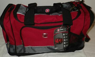 Swiss Army Wenger Gear Camping Overnight Weekend Carry On Gym Tool Duffle Bag