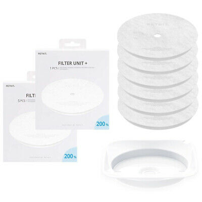 Petkit Eversweet Health Water Drinking Fountain Replacement Filters 6pcs & Tray