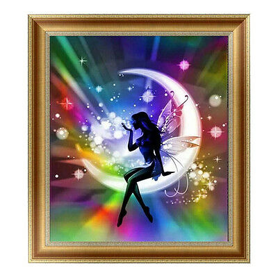 5D Beauty Diamond Rhinestone Pasted Embroidery Painting Cross Stitch Home Decor~