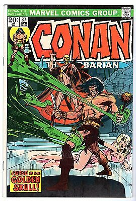 Conan The Barbarian #37, Very Fine Condition'