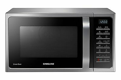 Samsung MC28H5015AS  Mikrowelle 900 W 28 L Garraum silber Slim-Fry backen Mikro