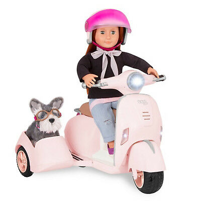 Our Generation Ride Along Scooter brand new gift FREE NEXT WORKING DAY DELIVERY
