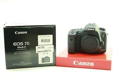Canon EOS 7D MK II DSLR Digital Camera Body Only -BB-