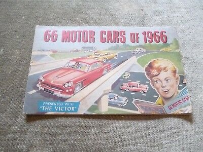 Full Set Album 66 Motor Cars Victor Comic Aston Martin DB6 AC Cobra Jaguar 1966