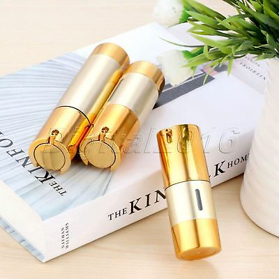 Portable Luxury Empty Airless Pump Bottles Lotion Cosmetic Containers 15/30/50ml