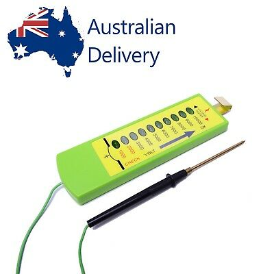 Electric Fence Voltage Tester Farm solar fence 1000V to 10000V