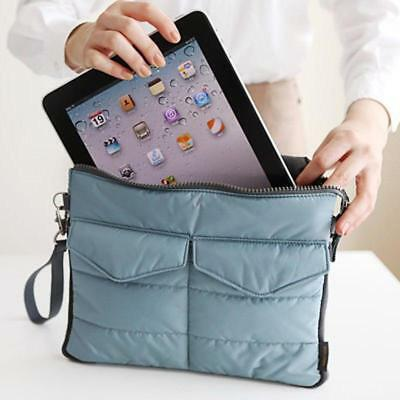 Portable Organizer Tablet Storage Pouch Soft Nylon Waterproof Carry Handheld Bag