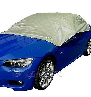 Breathable Water Resistant Car Window Roof Top Frost Cover VW POLO Snow Ice MED