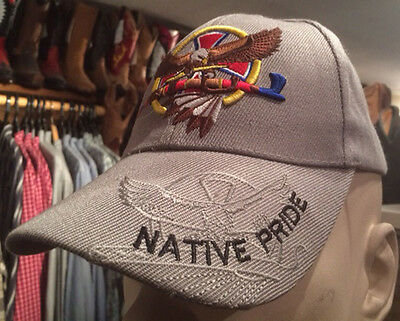 Casquette Usa- Western - Country -Native -Indien **superbe Promo**