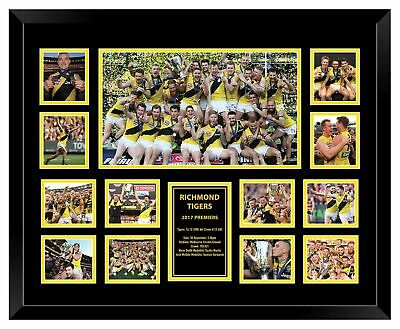 Richmond Tigers 2017 Premiers Framed Memorabilia