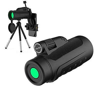 16x50 Hd Monocular Telescope Compact, Monoculars for Adults with Upgrade Quick P