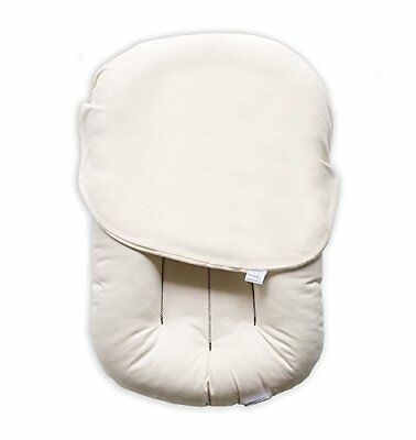 Snuggle Me Organic | Patented Sensory Lounger for Baby organic cotton