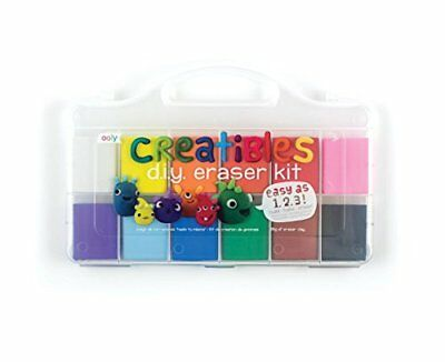 NEW OOLY Creatibles DIY Erasers Set of 12 161 001 FREE SHIPPING