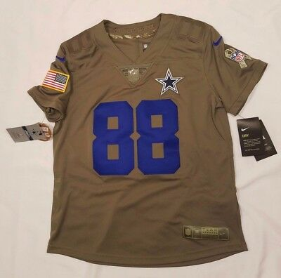 1a1af8b7a NIKE Dallas Cowboys Dez Bryant Womens Salute to Service Limited Jersey