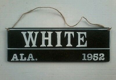 Segregation Jim Crow Wooden Sign