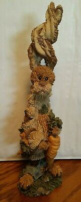 Peter The Whopper ~ Boyds Bears & Friends Folkstone Collection #2841 Rabbit Hare